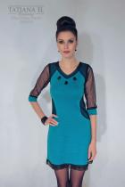 Трикотажное платье | ТP0004
