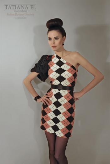 Трикотажное платье | ТP0007