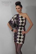 Трикотажное платье | ТP0008