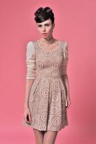 Трикотажное платье | ТP0009