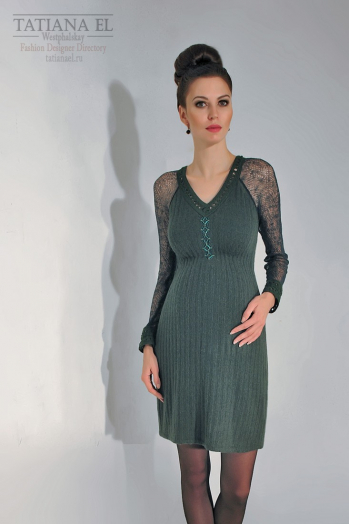 Трикотажное платье | ТP0005