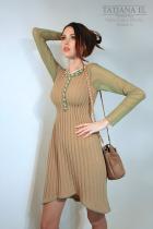 Трикотажное платье | ТP0006