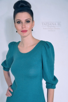 Трикотажное платье | ТP0003
