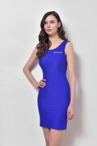 Синее облегающее платье аренда