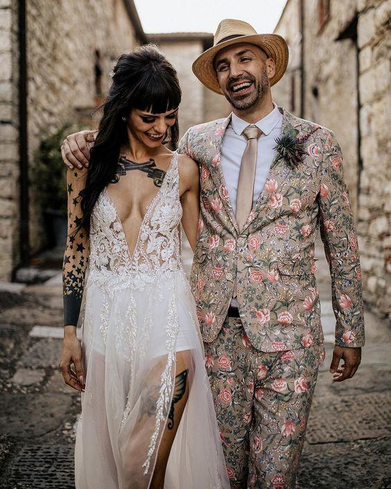 Самый необычный свадебный наряд
