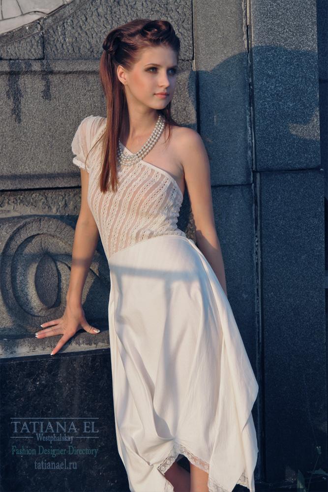 Пример свадебного платья сшитого у нас