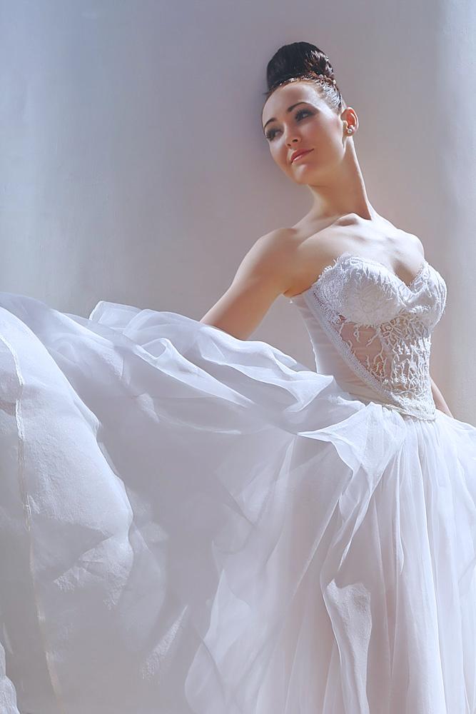 Пример пошива свадебного платья в ателье Татьяны Эль