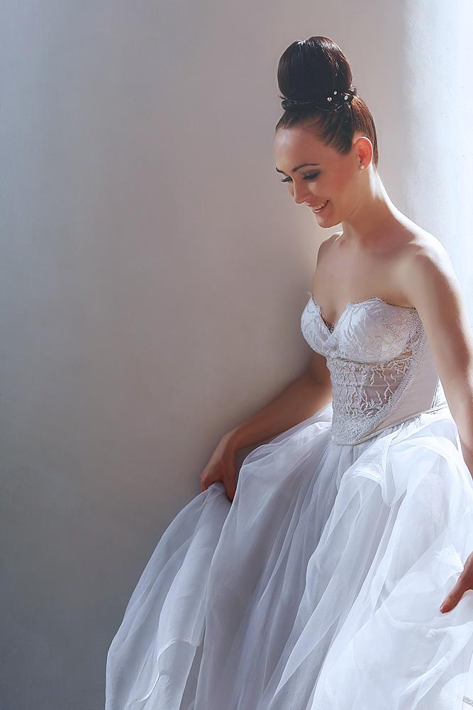 Пример свадебного платья сшитого в нашем ателье