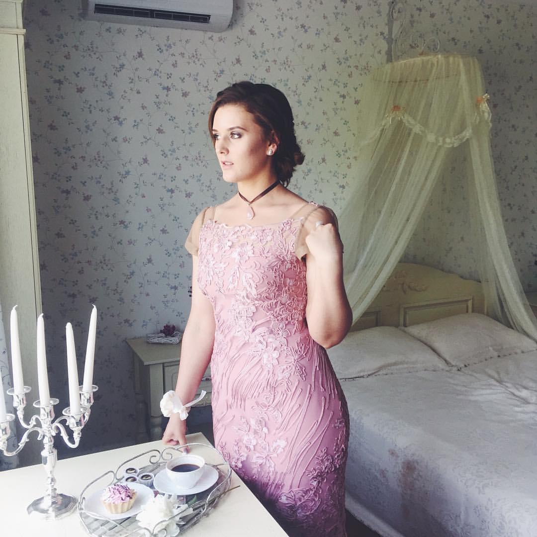 Пример платья сшитого в нашем ателье
