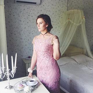 Пример индивидуального пошива платья