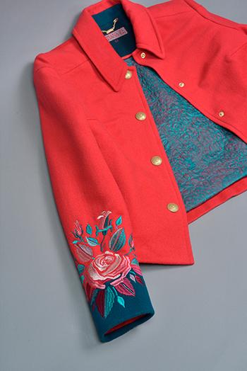 Еще одно пальто нашего пошива!