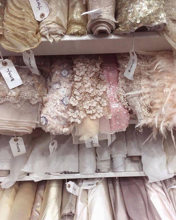 Ткани для индивидуального пошива свадебного платья